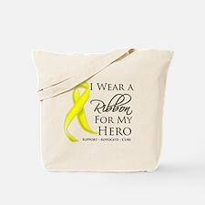 Hero Ribbon Sarcoma Tote Bag