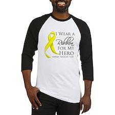 Hero Ribbon Sarcoma Baseball Jersey