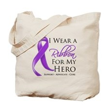 Hero Pancreatic Cancer Tote Bag