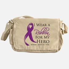 Hero Pancreatic Cancer Messenger Bag