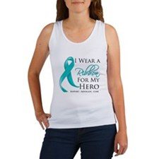 Hero Ribbon Cancer Women's Tank Top