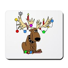 Reindeer Dog Mousepad