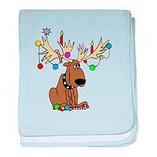 Reindeer Dog baby blanket