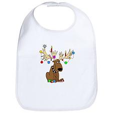 Reindeer Dog Bib