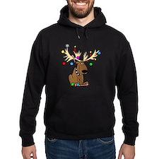 Reindeer Dog Hoodie
