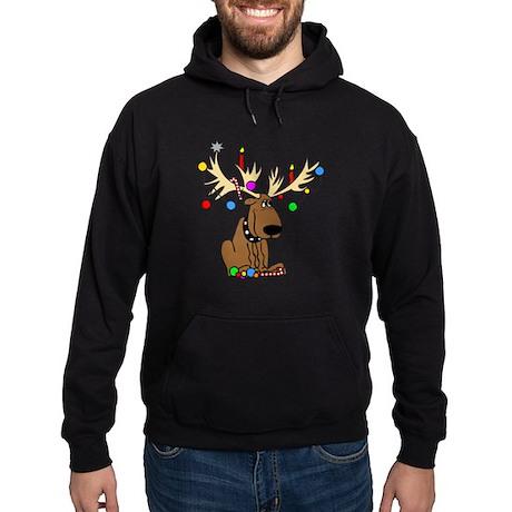 Reindeer Dog Hoodie (dark)