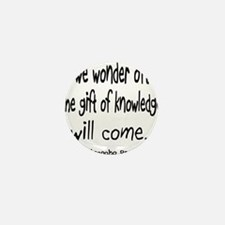 Gift of Knowledge Mini Button