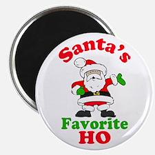 Santa's Favorite Ho Magnet