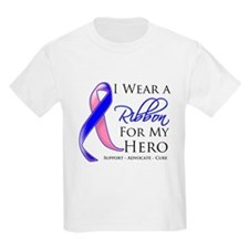 Hero Male Breast Cancer T-Shirt