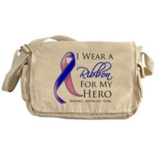 Hero Male Breast Cancer Messenger Bag