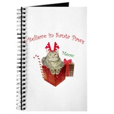 I Believe in Santa Paws Journal