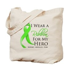 Hero Ribbon Lymphoma Tote Bag