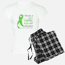 Hero Ribbon Lymphoma pajamas