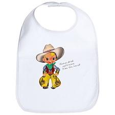 Little Cowboy2 Bib