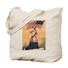 Lady Liberty Tote Bag