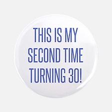 60th birthday men Button