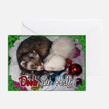 Dook The Halls Greeting Cards (Pk Of 20)