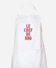Le Chef De BBQ Light Apron