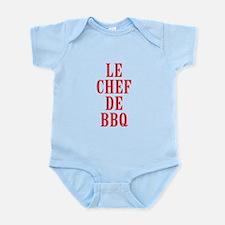Le Chef De BBQ Body Suit