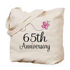 65th Anniversary Gift Tote Bag