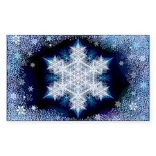 January Snowflake Decal