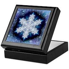 January Snowflake Keepsake Box
