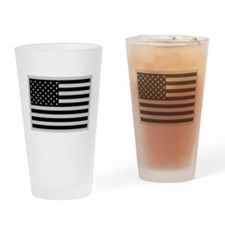 Subdued US Flag Tactical Drinking Glass