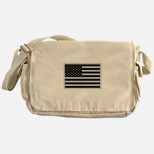 Subdued US Flag Tactical Messenger Bag