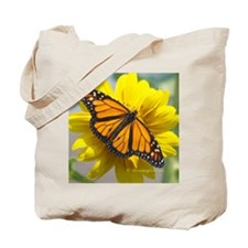 Monarch Sunflower Tote Bag