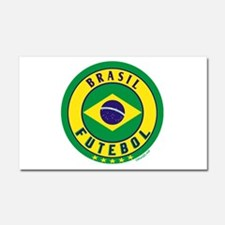 Brasil Futebol/Brazil Soccer Car Magnet 20 x 12