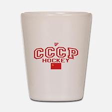 CCCP Soviet Hockey C Shot Glass