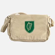 IE Gaelic Harp Ireland/Eire Messenger Bag