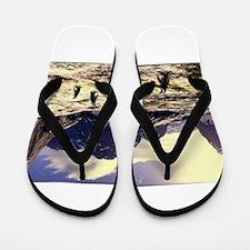 Jmcks Penguin Flip Flops