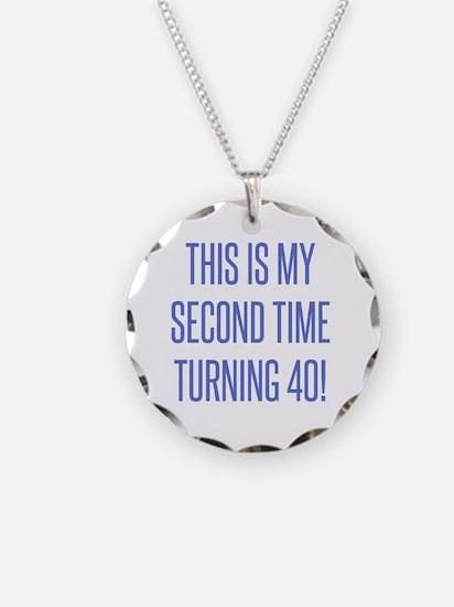 Cool 80th birthday celebration Necklace