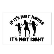 If it's not house it's not right Postcards (Packag