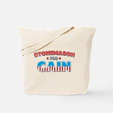 Stonemason for Cain Tote Bag