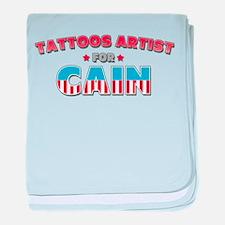 Tattoos artist for Cain baby blanket