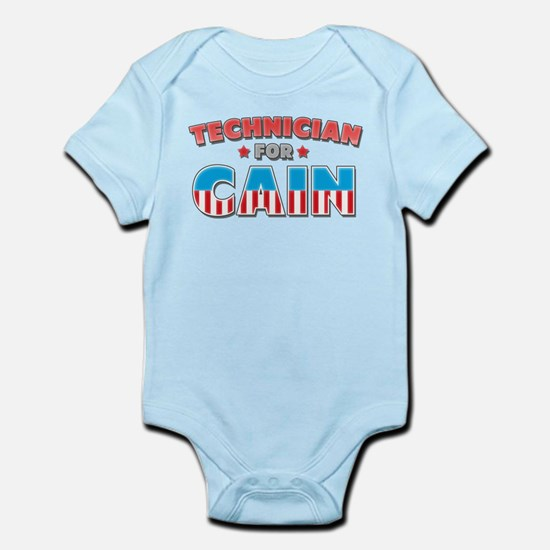 Technician for Cain Infant Bodysuit