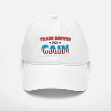 Train driver for Cain Baseball Baseball Cap