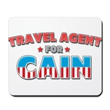 Travel agent for Cain Mousepad