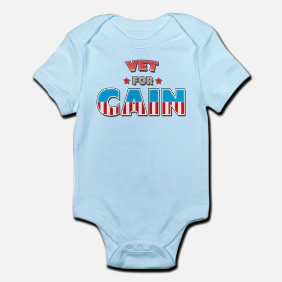 Vet for Cain Infant Bodysuit