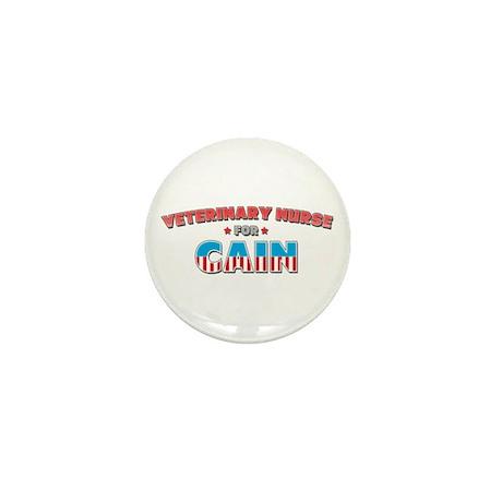 Veterinary nurse for Cain Mini Button (10 pack)