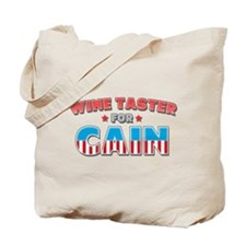 Wine Taster for Cain Tote Bag