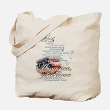 God bless America: Tote Bag