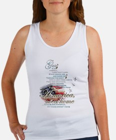 God bless America: Women's Tank Top