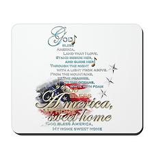 God bless America: Mousepad