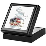 Citizenship Square Keepsake Boxes