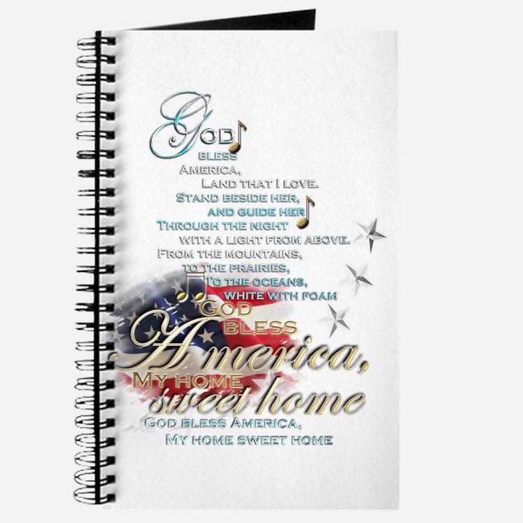 God bless America: Journal