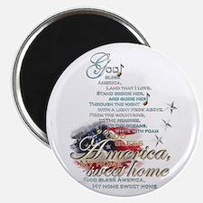 God bless America: Magnet
