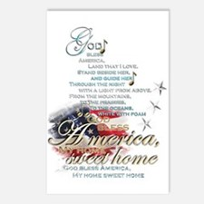 God bless America: Postcards (Package of 8)